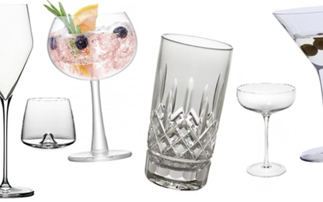 Different gin glasses