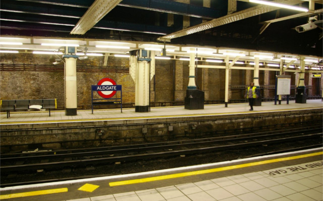 Aldgate Underground Station Flickr L Allen Brewer