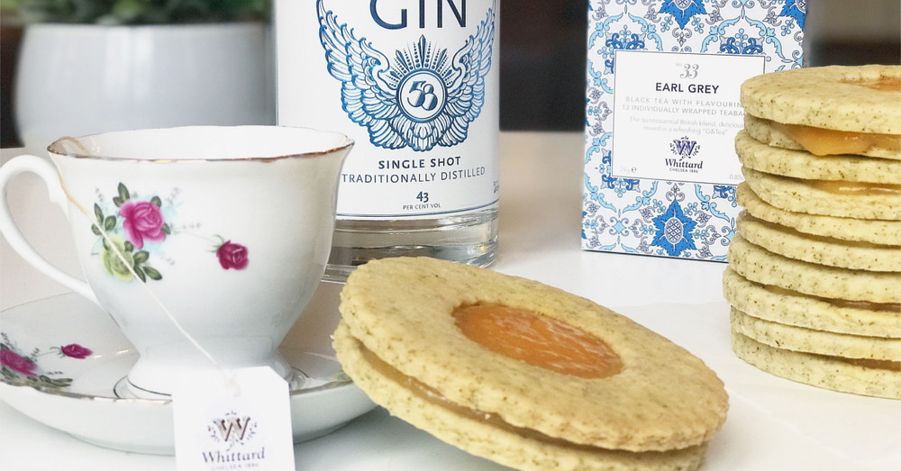 Earl Grey Tea Gin Biscuits