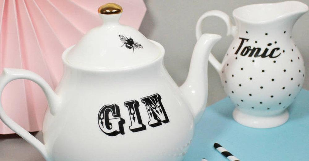 Gin Tonic Tea Set