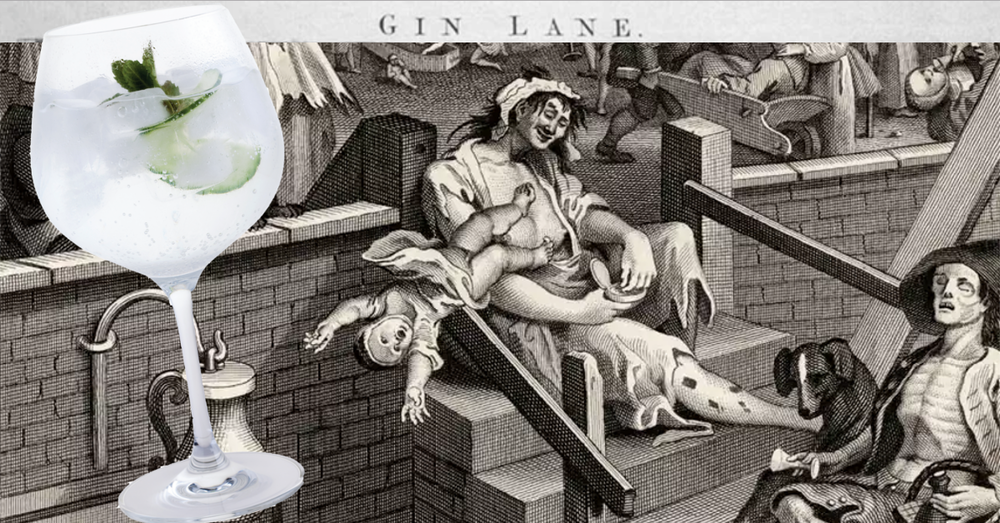 Hogarth Gin Lane Gin Tonic