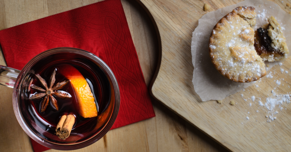 Gin infused mince pies