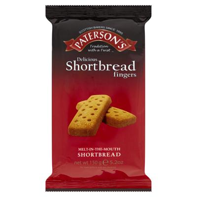 Paterson's Shortbread Fingers