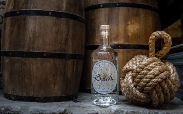 batch premium gin at the distillery