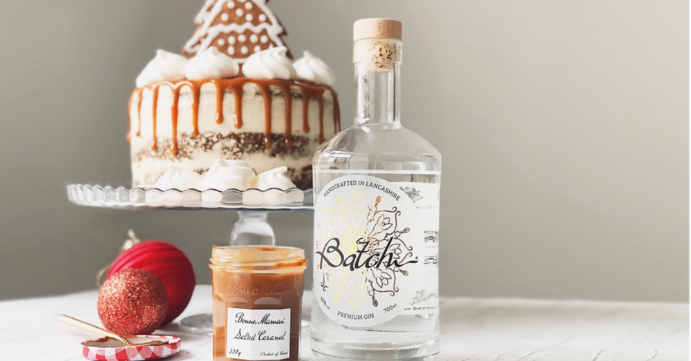 The Gin Baker's Ginger and Caramel cake is the perfect indulgence for the festive season.