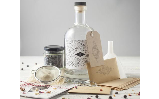 Make your own gin gift set