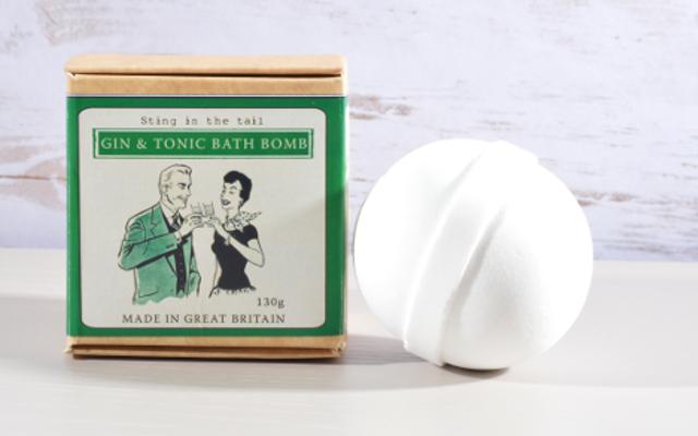 Gin Bath Bomb