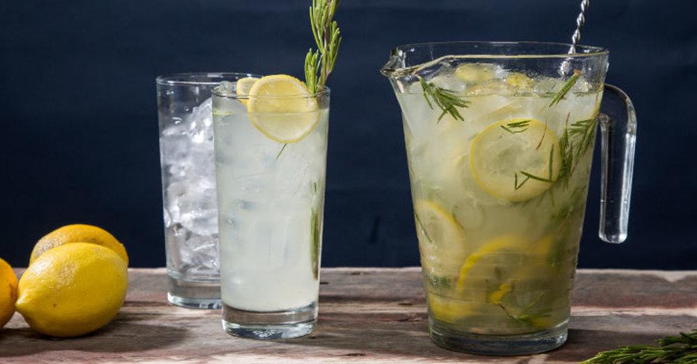 Rosemary Gin Lemonade