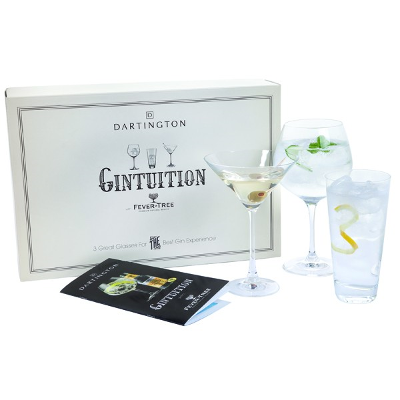 Dartington Crystal Gintuition Gin Glasses Set