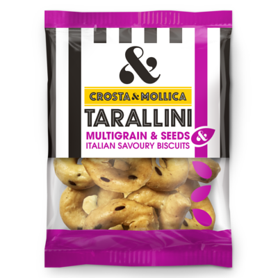 Crosta Mollica Tarallini Fennel Seed