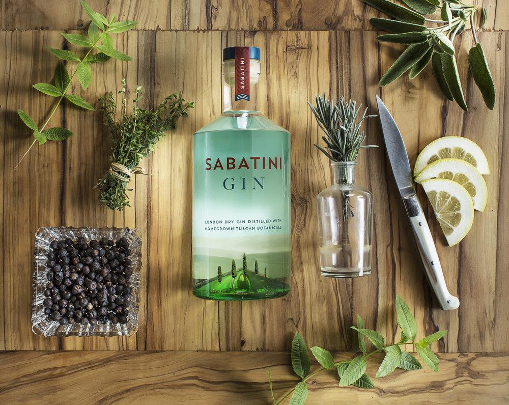 Sabatini Gin Botanicals