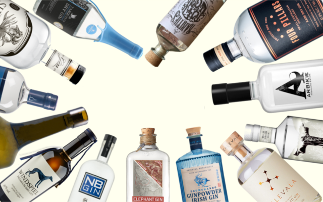 Previous Craft Gin Club gins
