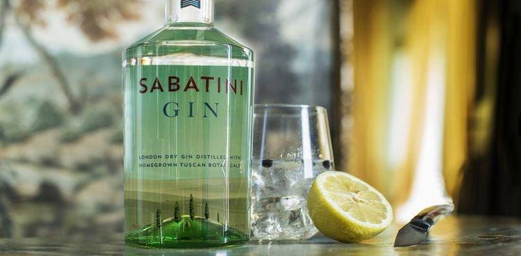 Sabatini Italian Tuscan Gin Tonic Lemon