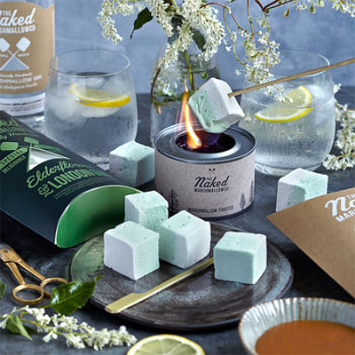 The Naked Marshmallow Co Gin Lovers Marshmallow Kit