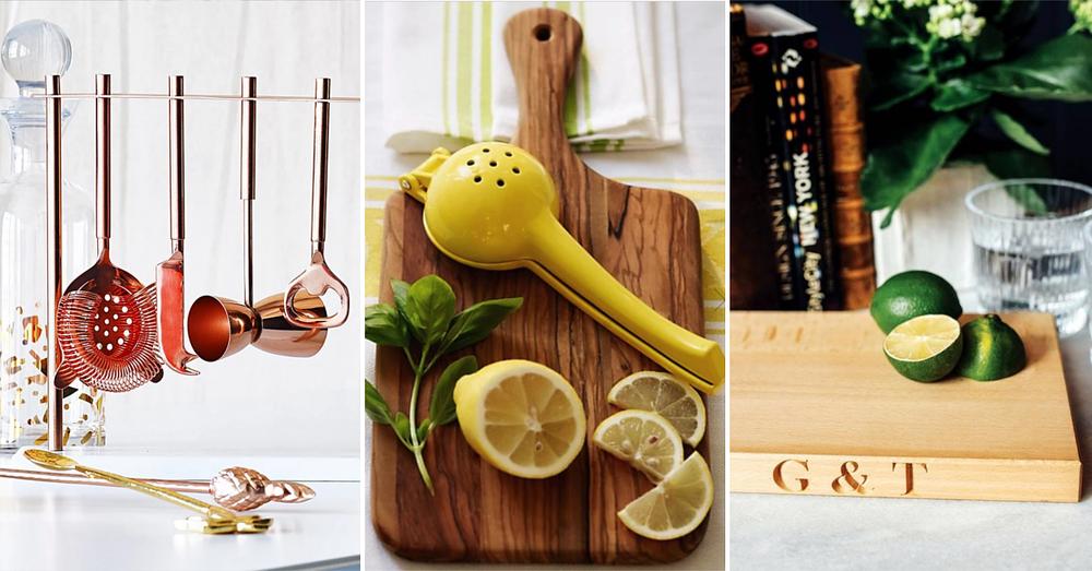 Gin Themes Kitchen Cocktail Utensils
