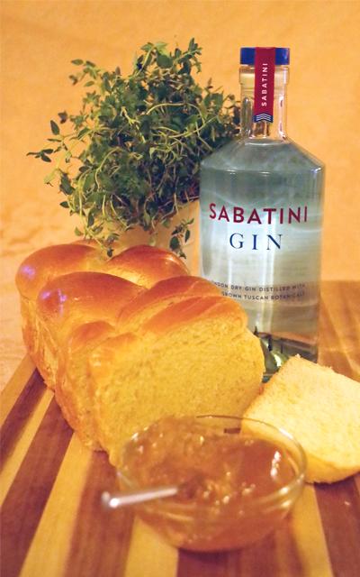 Sabatini Gin Brioche Marmalade Recipe