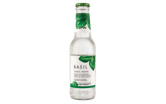 Lamb and watt basil tonic water
