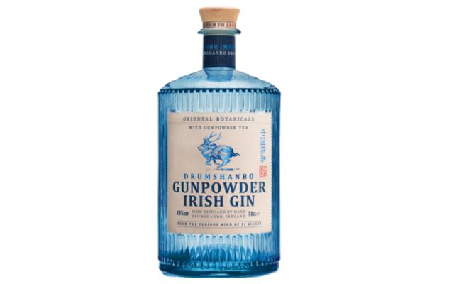 Gunpowder Irish gin bottle