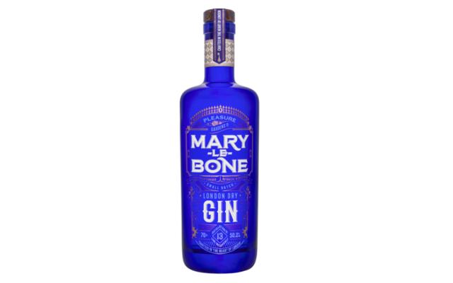 marylebone gin bottle