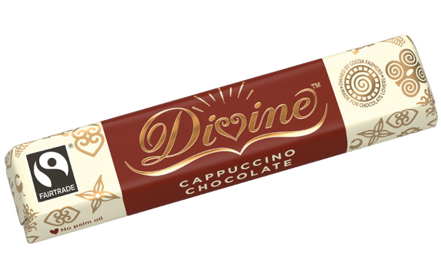 Divine Cappuccino Chocolate Bar
