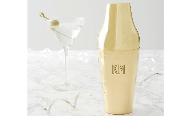 custom cocktail shaker