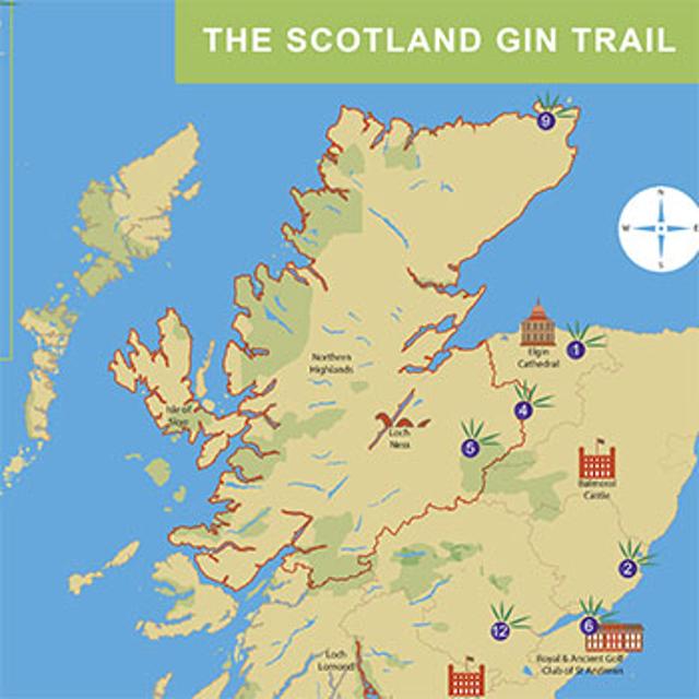 Scottish Gin Trail