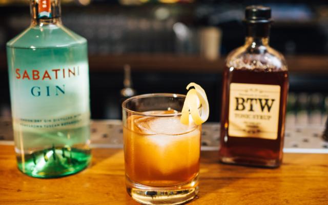 Sabatini gin cocktails