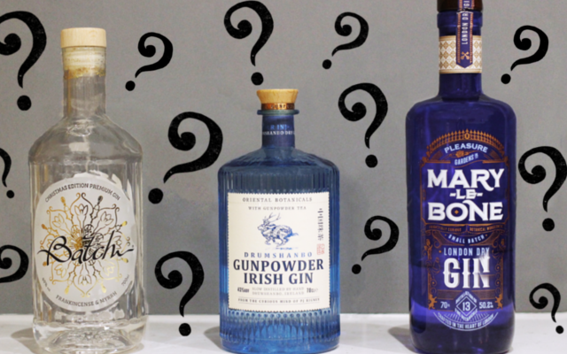 gunpowder gin marylebone gin and batch