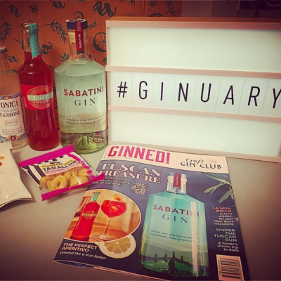 January Sabatini Gin Ginstagram Photo Competition Runner Up