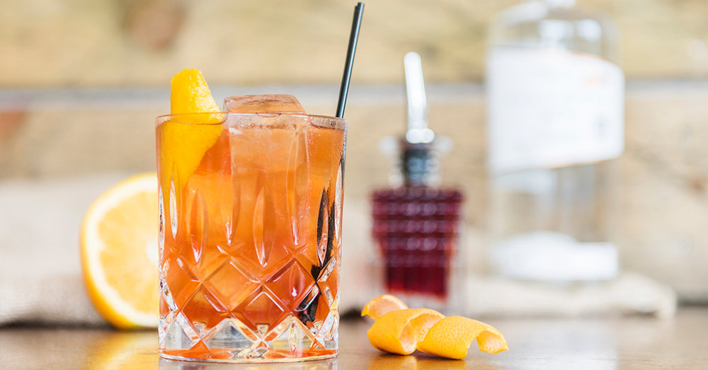 Salcombe Gin Negroni Cocktail