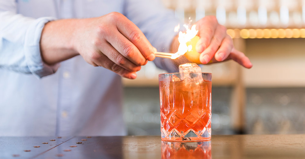 Salcombe Negroni Fire
