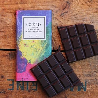 Coco Chocolatier Gin Tonic Dark Chocolate