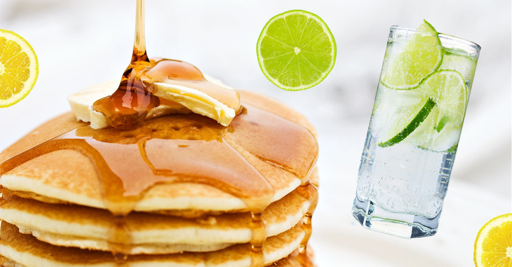 Gin Tonic Pancakes