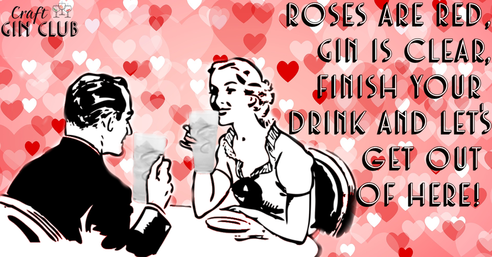 Gin themed chat up line