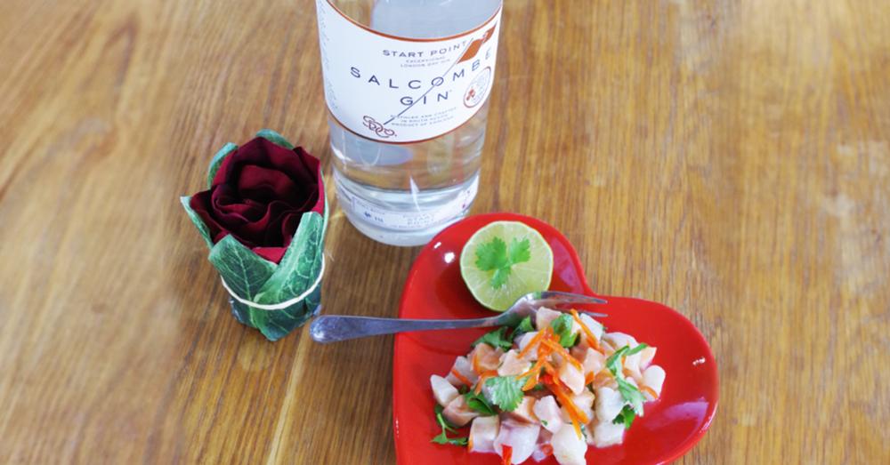 Salcombe Gin Ceviche Recipe