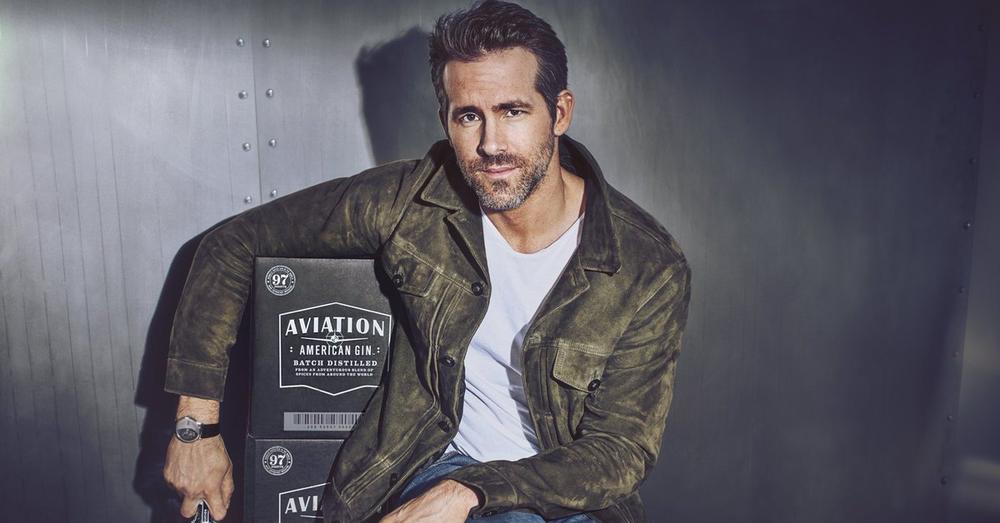 Ryan Reynolds Aviation Gin