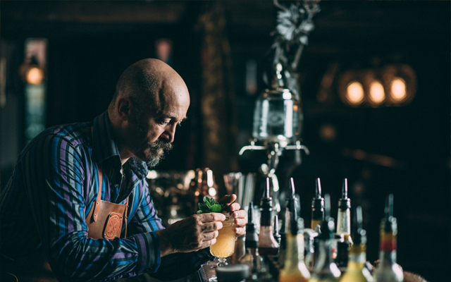 Patrick Fogarty bartender Doctor Inks Curiosities
