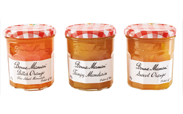 Bonne Maman marmalades