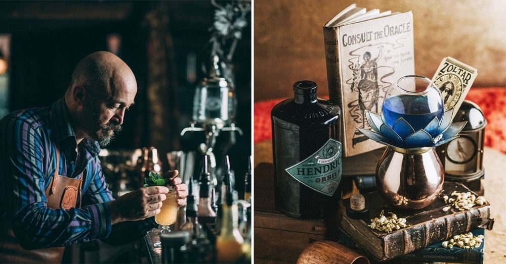 Gin Joint Doctor Inks Curiosities Exeter
