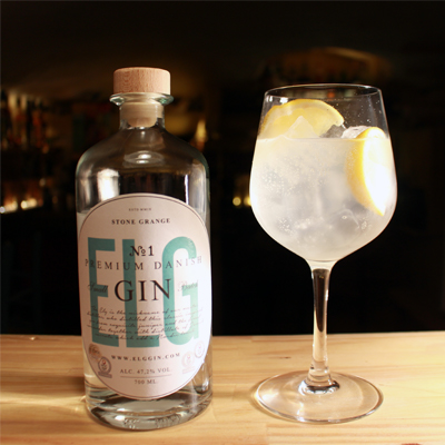 ELG Gin gin tonic perfect serve with lemon