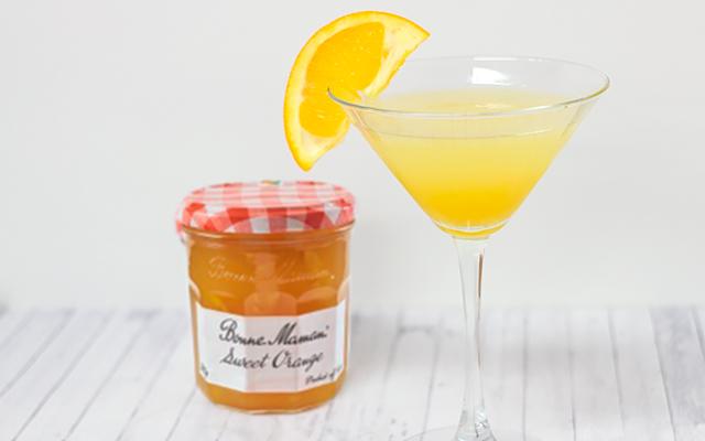 Bonne Maman Breakfast Gin Martini
