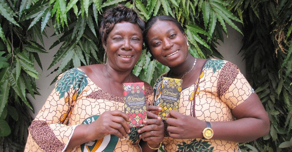 Divine Chocolate Woman Kuapa Kokoo