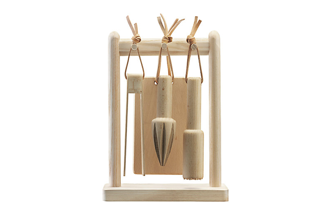 Lsa wooden cocktail set