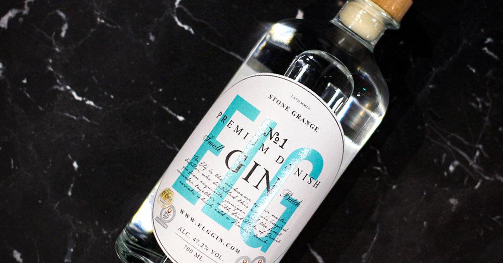 ELG Gin bottle