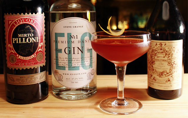 Sweet Surrender Elg Gin No 1 cocktail