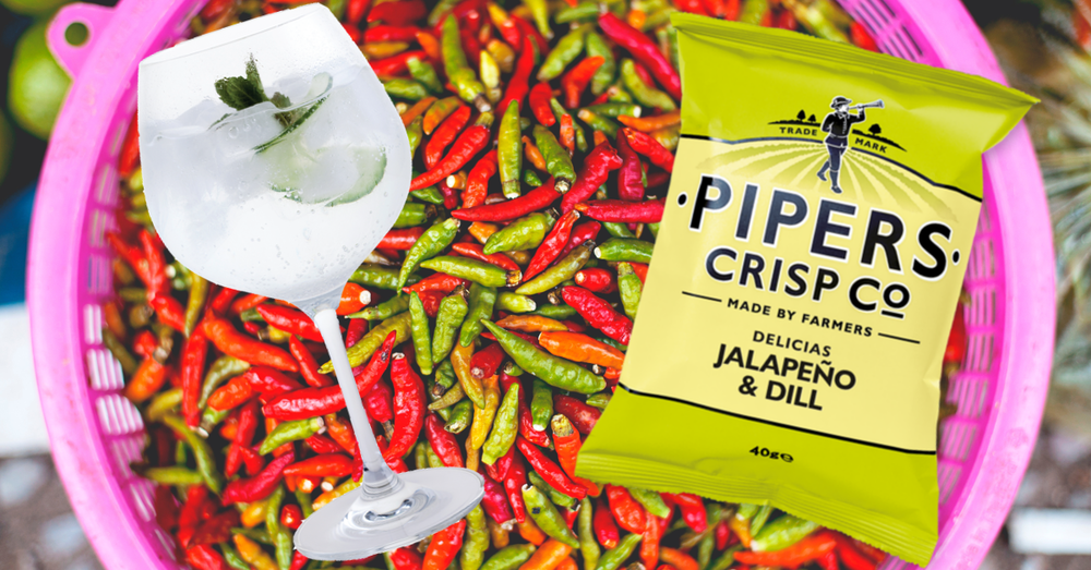Pipers Jalapeno Dill Crisps