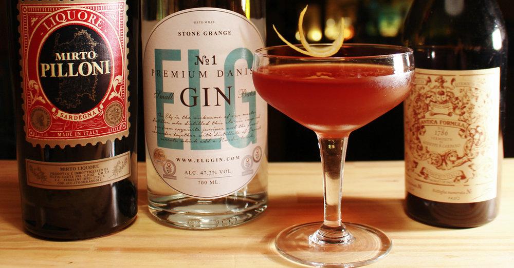 Sweet Surrender Elg Gin No 1 cocktail