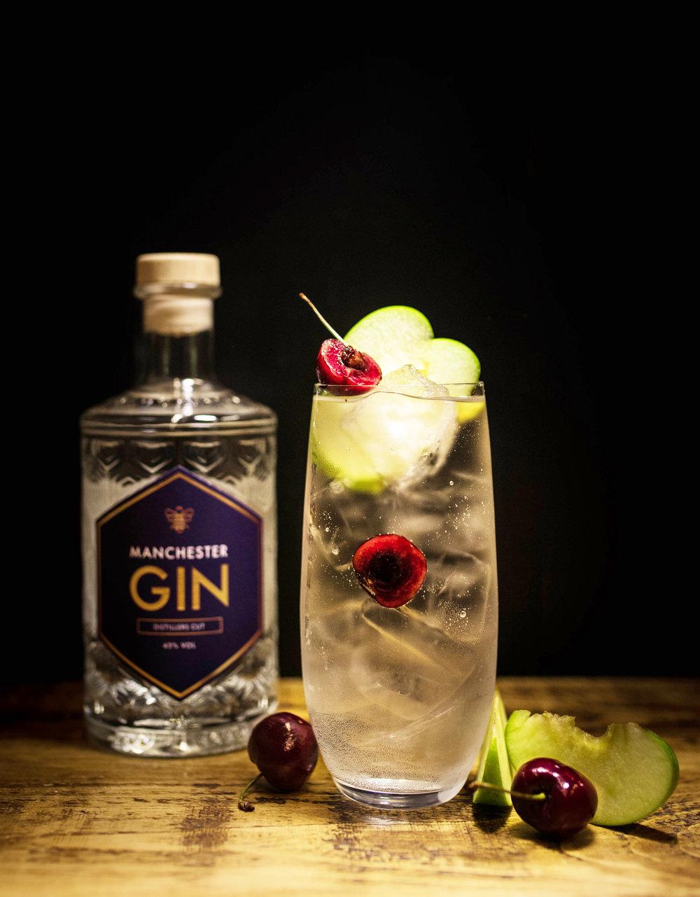 Mancheter Gin Distillers Cut Perfect Serve