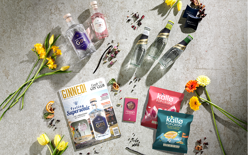 April Gin of the Month Box pic