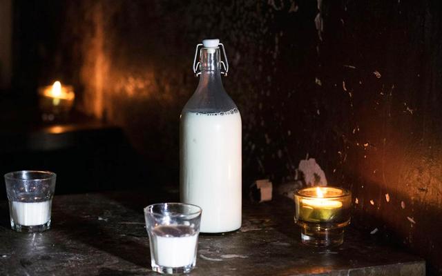 Panther milk bar in Glasgow